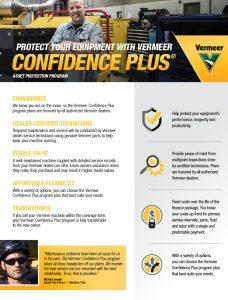 Confidence Plus literature