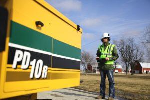 Vermeer PD10R Solar Pile drivers