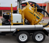 diesel vacuum excavator