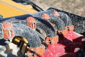 R250C Pipeline Reclaimer