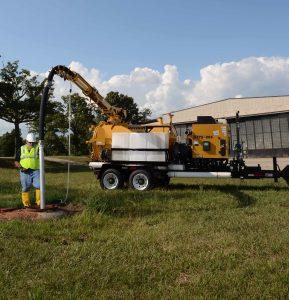 vx75 vacuum excavator