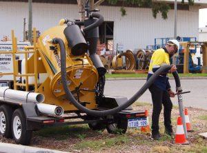 hydro vacuum excavations