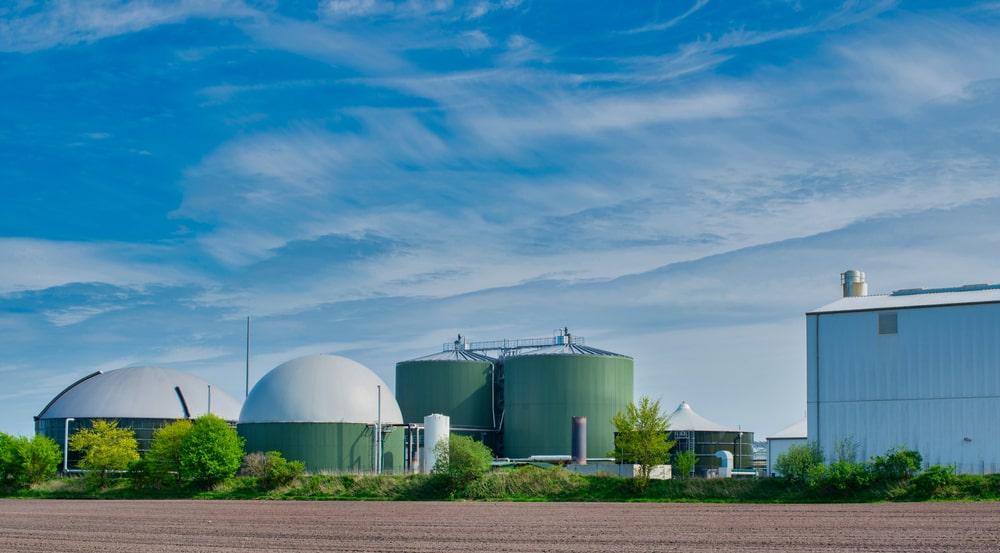 renewable energy bio gas plant